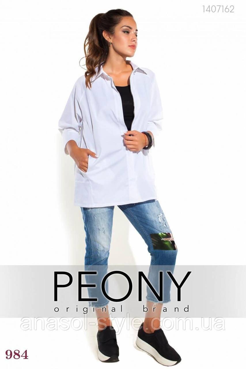 Женская рубашка Гранада (белый) 1407162