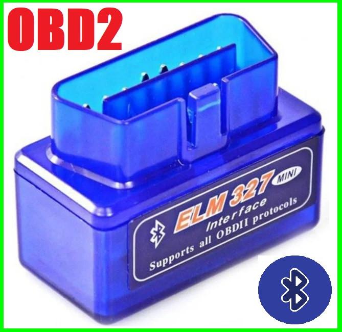 Автосканер OBD2 ELM327 Сканер Для Диагностики Авто по Bluitooth