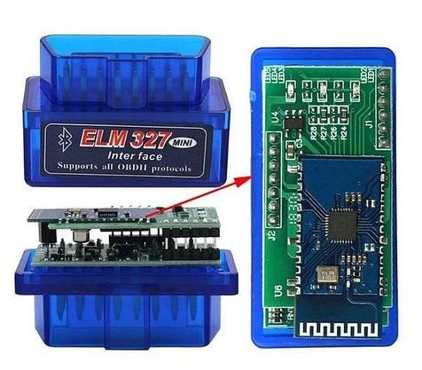 Автосканер OBD2 ELM327 Сканер Для Диагностики Авто по Bluitooth, фото 3