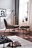 Табурет WASHINGTON Relax Chair vintage Darkly brown, фото 6