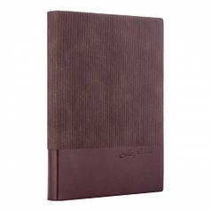 Ежедневник А6 недат Leo Planner Velvet, мягкий, 352стр., коричневый 252036