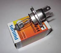 Лампа PHILIPS H4 12V 60/55W P43t-38 +30%