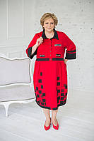 Сукня-сорочка бохо трикотажне