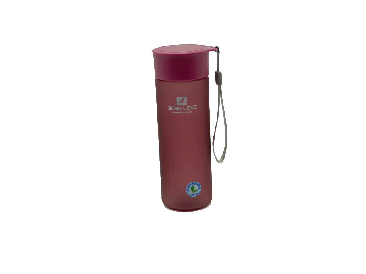 Пляшка для води CASNO 600 мл MX-5014 More Love Фіолетова