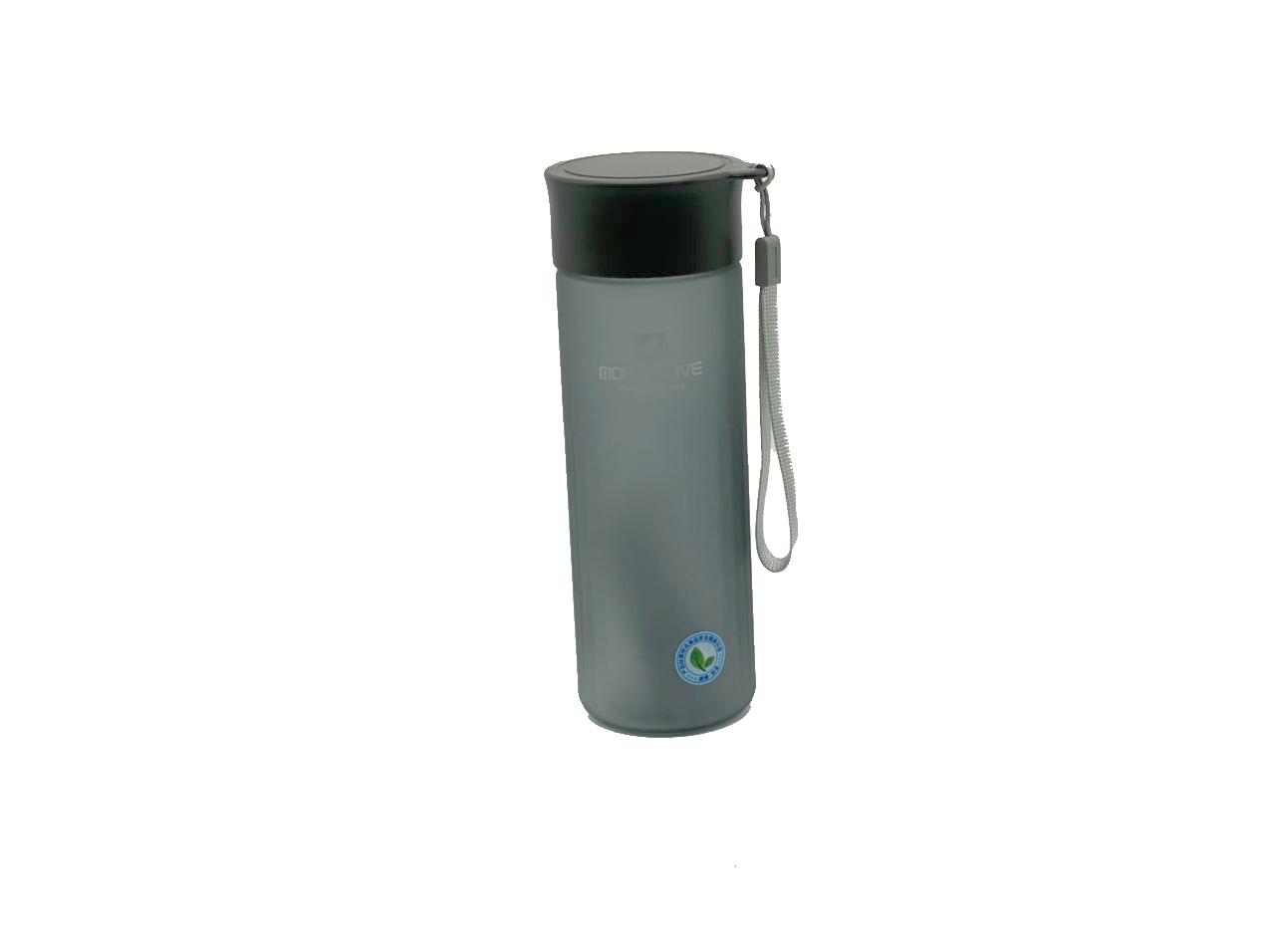 Пляшка для води CASNO 600 мл MX-5014 More Love Сіра