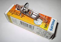 Лампа PHILIPS H1 12V 55W P14,5s +30%