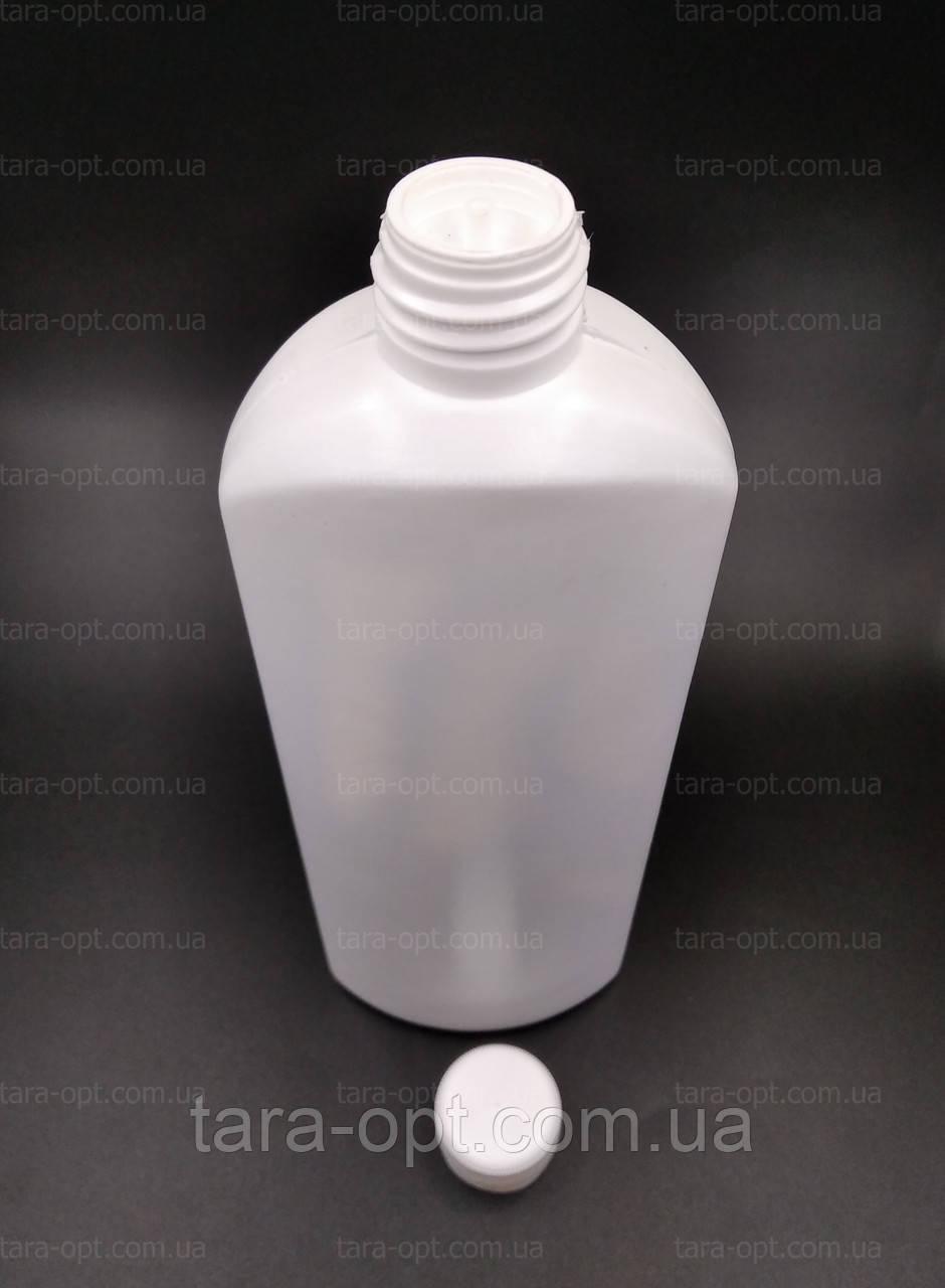 Пляшка 500 мл з дозатором і кришкою 0,5 л (Ціна від 6 грн)