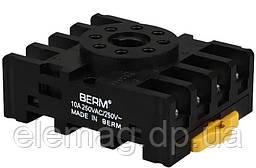 Основание релейного разъема PF083A, 8 контактов Berme