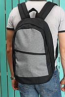 Рюкзак мужской городской спортивный Mayers черно-серый, фото 1