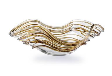 Авторская чаша из богемского хрусталя Cocoon