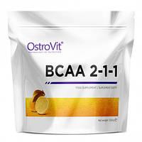 Аминокислоты BCAA 2-1-1  Ostrovit 500 g, фото 1