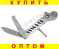 Нож мультитул разводной гаечный ключ