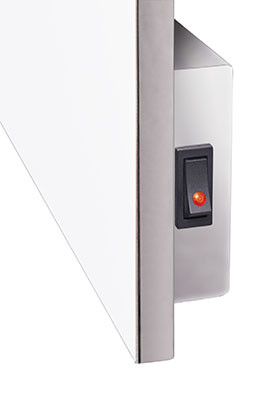 Основные преимущества керамического полотенцесушителя Infra Ceramic TCMT–RA 800