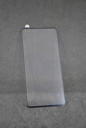 Захисне скло Samsung A71 / A715 Full Glue Black (без упаковки), фото 2