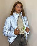 Рефлективна куртка світловідбиваюча ОПТОМ розміри з 38 по 48 модель Вік Рефлектив, фото 7