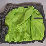Рефлективна куртка світловідбиваюча ОПТОМ розміри з 38 по 48 модель Вік Рефлектив, фото 9
