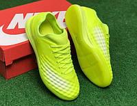 Футзалки (бампы) Nike Magista TF салатовые