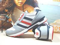 Мужские кроссовки для бега BaaS FLEXIBLE бело-серые 42 р.