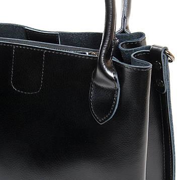 Сумка Женская Классическая кожа ALEX RAI 9-01 8784 черная, фото 2