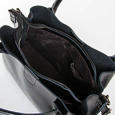 Сумка Женская Классическая кожа ALEX RAI 9-01 8784 черная, фото 3