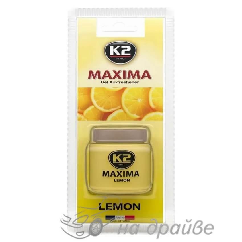 Освежитель воздуха Maxima Лимон 50 мл V605 K2