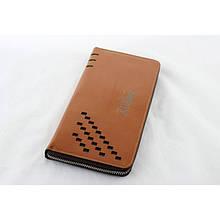 Мужской кошелек клатч портмоне барсетка Baellerry SW009 Коричневый