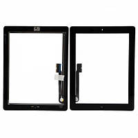 Touch Apple iPad 3 (A1416, A1430, A1403, A1458, AA1459, A1460) Black complete with button Home