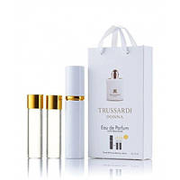 Мини-парфюм с феромонами женский TRUSSARDI Donna Trussardi 3х15 мл