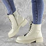 Ботинки женские Fashion Patchy 2163 36 размер 23,5 см Бежевый, фото 10
