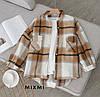 Рубашка-пальто женская в стиле oversize, фото 5