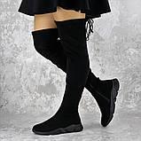 Женские зимние ботфорты Fashion Fabio 1364 36 размер 23 см Черный, фото 2
