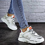 Кроссовки женские Fashion Amiga 2103 36 размер 22,5 см Белый, фото 4
