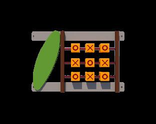 Огорожа Хрестики-нулики (секція) Kidigo