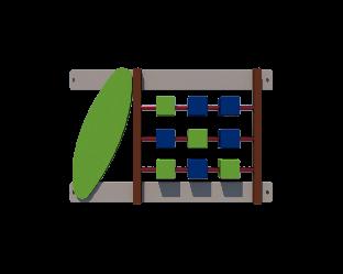 Огорожа Кубики (секція) Kidigo