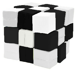 Набор Кубики ЧБ Kidigo