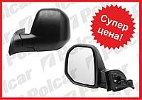 Зеркало левое (механическое) Citroen Berlingo B9 , Peugeot Partner (2008-2012) OE:8152F6