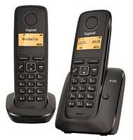 Радиотелефон DECT Gigaset A120 DUO Black, L36852H2401S301