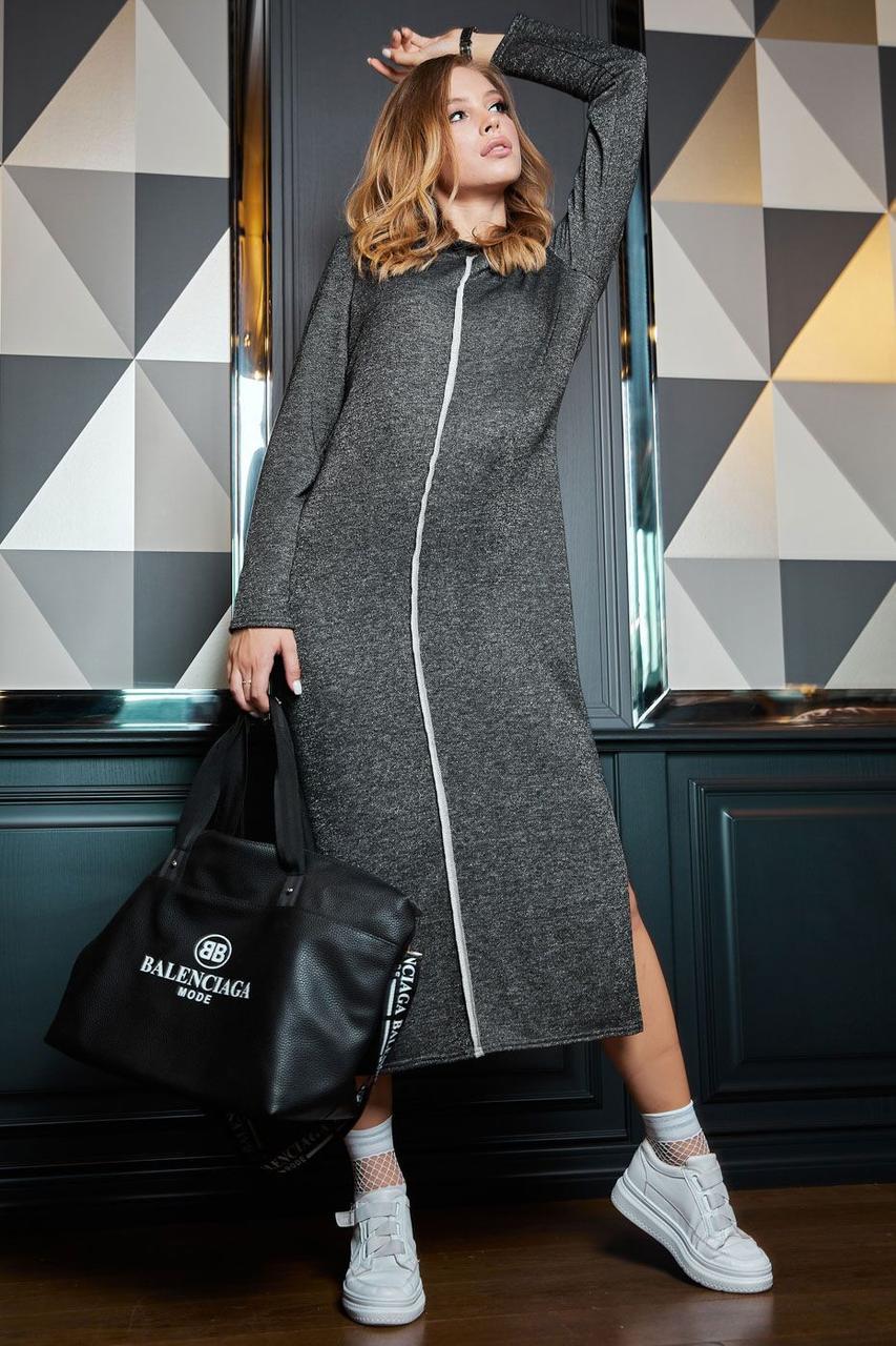 Платье женское, цвет: черный, размер: XS, S, M