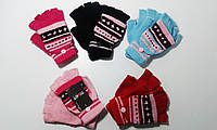 Перчатки  без пальцев  для девочек ТОМОТ,  арт. MG 24