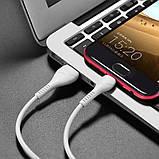 Кабель micro USB HOCO X37 7081, белый, фото 8