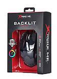 Мышь проводная игровая XTRIKE ME Gaming Backlight GM-216, черная, фото 5