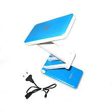 Аккумуляторная настольная Led лампа Topwell 1019, синяя