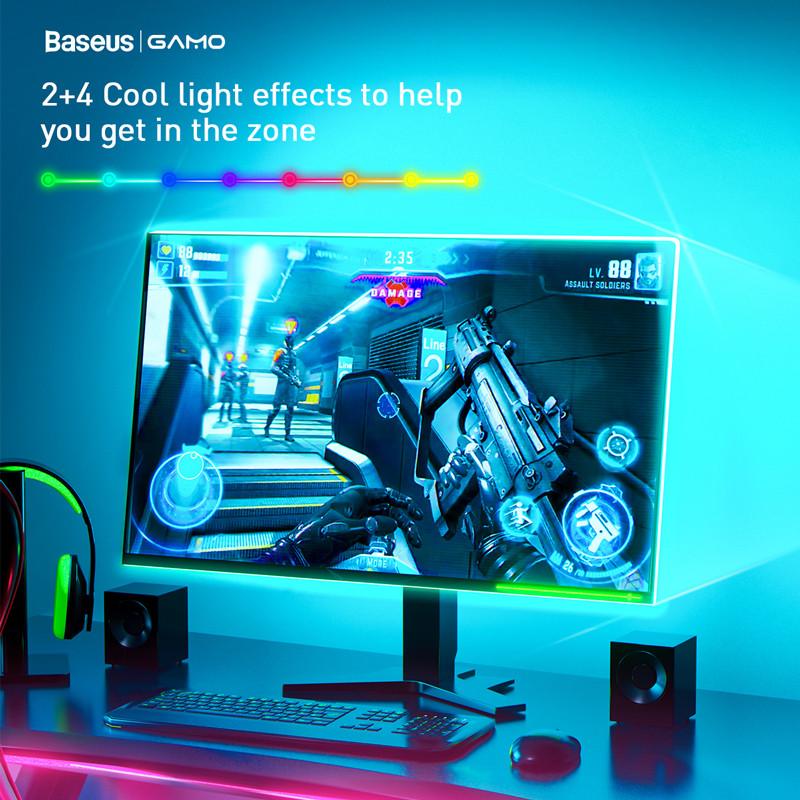 Светодиодная лента RGB Baseus USB Colorful Electronic Sports Game Ligh 6
