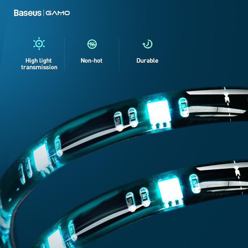Светодиодная лента RGB Baseus USB Colorful Electronic Sports Game Ligh 7