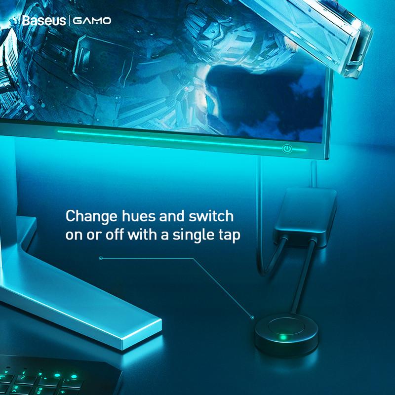 Светодиодная лента RGB Baseus USB Colorful Electronic Sports Game Ligh 9