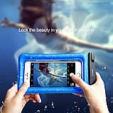 Чехол водонепроницаемый BASEUS Waterproof Air cushion, черный, фото 4