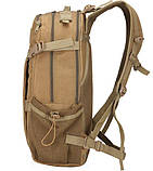 Рюкзак тактический Y003 50 л, олива, фото 3
