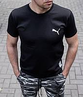 Мужская футболка Puma чёрная , Турция