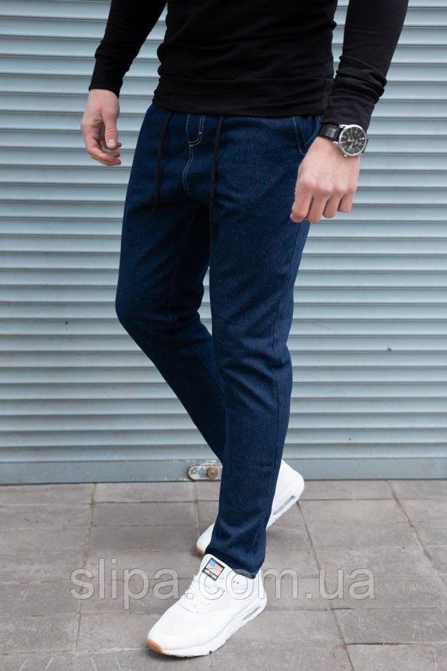 Чоловічі джинси зі шнурком
