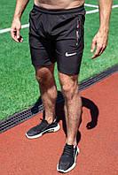 Мужские чёрные шорты Nike из плащевки, фото 1